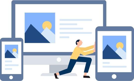 Responsive Webdesign WIen - Homepages die auf allen Endgeräten gut aussehen