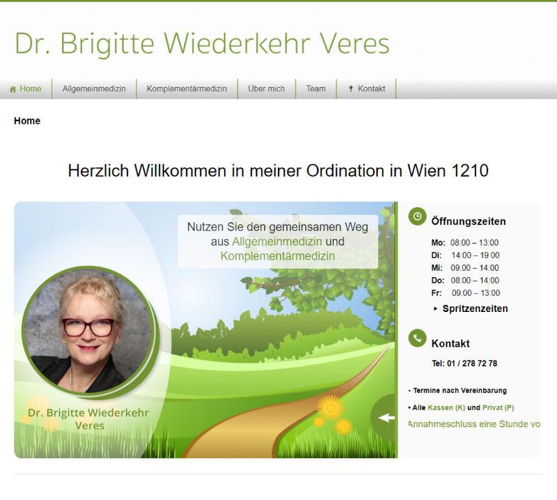 Webseite Projekt - Wiederkehr Veres