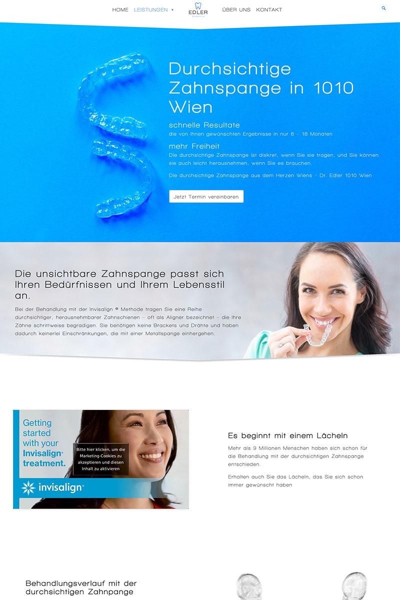 Case Study - Webdesign für Aerzte in Wien